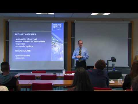 Andrew Cairns: Actuarial Careers
