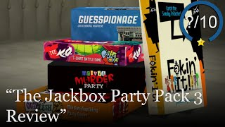 The Jackbox Party Pack 3 Review [PS4, Switch, Xbox One, & PC] (Video Game Video Review)