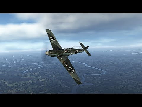 War Thunder - The Knife at a Gun Fight (Arcade Bf109 E-1 Tutorial)