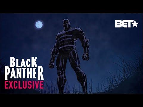 Black Panther, Ep. 1  Actor Djimon Hounsou Stars As T'Challa