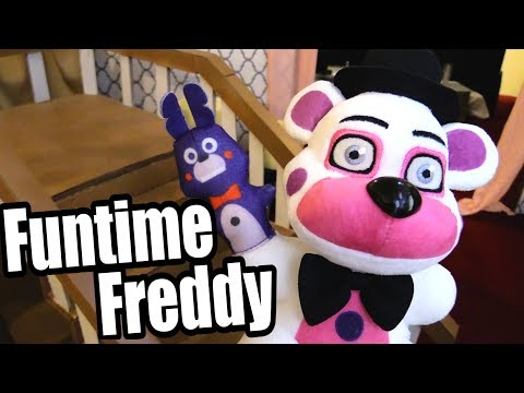 "FNAF Plush - Sister Location ""Funtime Freddy"""