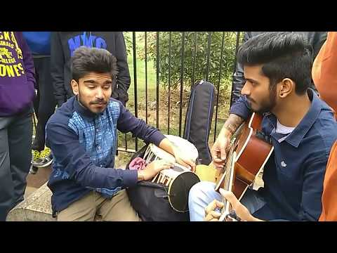 #Akash Sharma #nusrat #fateh #ali Khan #copy God gifted talent best ft by Yaman fusion band