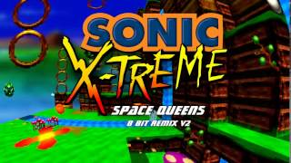 Sonic X-treme: Space Queens 8 Bit Remix V2 (850 Sub Special Part 5/10)