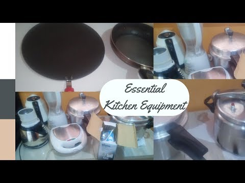 MUST HAVE KITCHEN EQUIPMENT AND UTENSILS