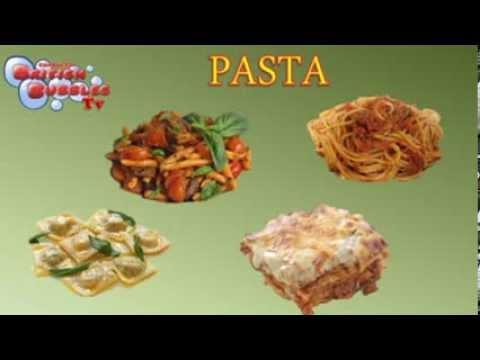 La pasta en ingles comidas y alimentos para ni os en ingl s youtube - Habitacion en ingles como se escribe ...