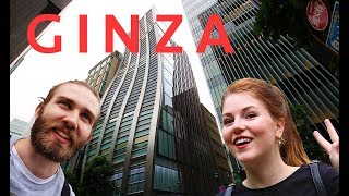 Shopping in Ginza in Tokyo | Japan travel vlog