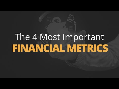 The 4 Most Important Financial Metrics