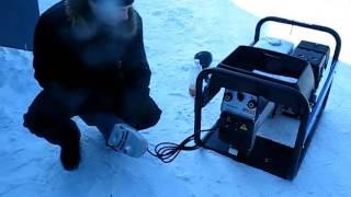 видео SDMO VX 200/4H - сварочный бензогенератор сварочный  4 кВт 230В
