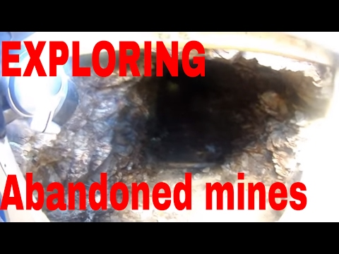 Exploring an abandoned gold mine in Colorado part 1