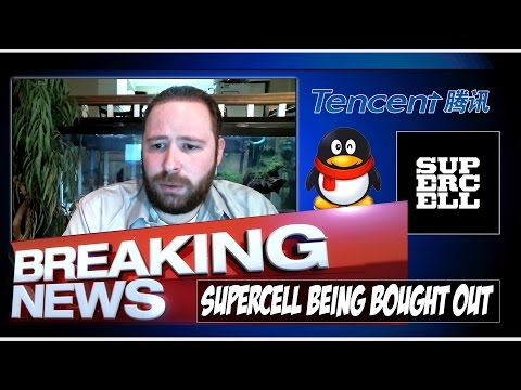 Big News! Supercell Acquired by Tencent