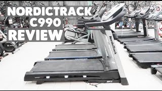 NEW NORDICTRACK C990 TREADMILL! || Nikki Bahan