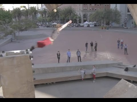 San Francisco International Parkour Jam 2014