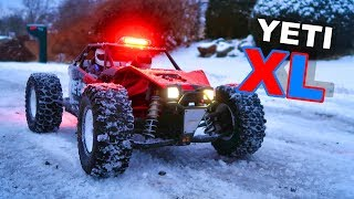 Axial Yeti XL Snow Police RC Monster Truck - TheRcSaylors