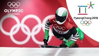 Africa's Skeleton heros: Adeagbo & Frimpong | Winter Olympics 2018 | PyeongChang