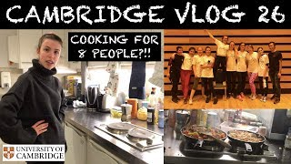 CAMBRIDGE VLOG 26: JUGGLING WORK, COOKING AND EXERCISE!
