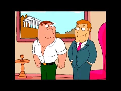 Family Guy- Peter joins the Beautiful People Club