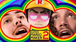 Collaborative torture from Ross and Jirard! - Mario Maker 2
