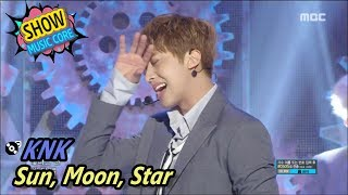 [Comeback Stage] KNK - Sun, Moon, Star, 크나큰 - 해.달.별 Show Music core 20170527
