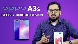 Oppo A3s | Purple never looked so beautiful | Unboxing & Review | (Urdu/Hindi)
