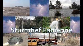 Auswirkungen vom Sturmtief Fabienne