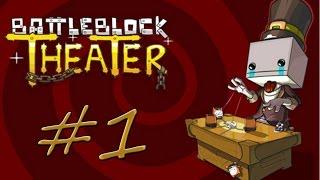 WHAT'S FRIENDSHIP? - BattleBlock Theater w/R3laX3R #1