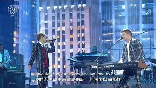[中字] Charlie Puth & Jungkook柾國(BTS) - 'We Don't Talk Anymore' (@2018 MGA)