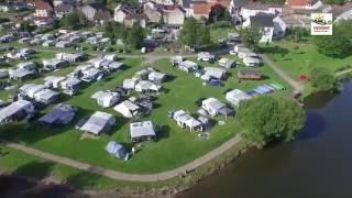 bid-AirCam Flug- /Imageclip Campingplatz Sauer-Our