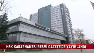 HSK KARARNAMESİ RESMİ GAZETE'DE YAYIMLANDI (08.06.2017 - BOLU)