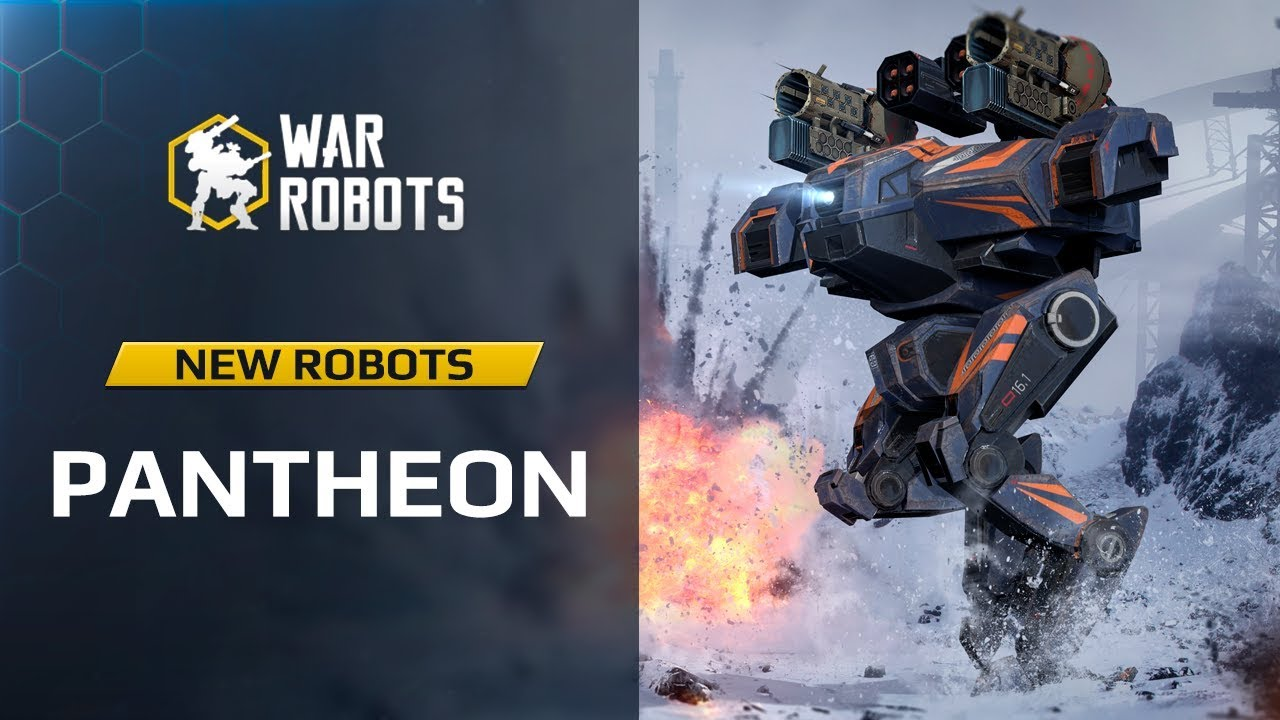 WR Overview: Pantheon New Robots Ares Hades Nemesis | War Robots