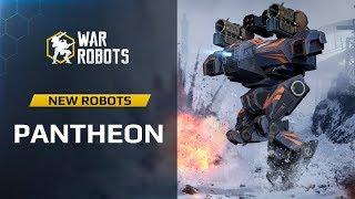 WR Overview: Pantheon New Robots Ares Hades Nemesis | War Robots