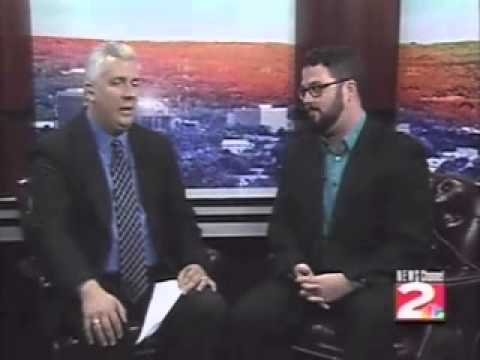 WKTV News Talk Interview: Next to Normal at Players of Utica (Dr. Madden - Adam Lawless)