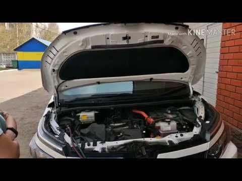 Заправка кондиционера Toyota Voxy hybrid