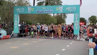 St.  Pete 2019 Run Fest Half Marathon  Begins