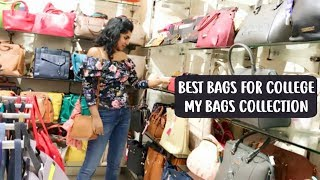 Bags for College Girl | Backpack for Every Girl - My 2018 Bags Collection Haul | AdityIyer