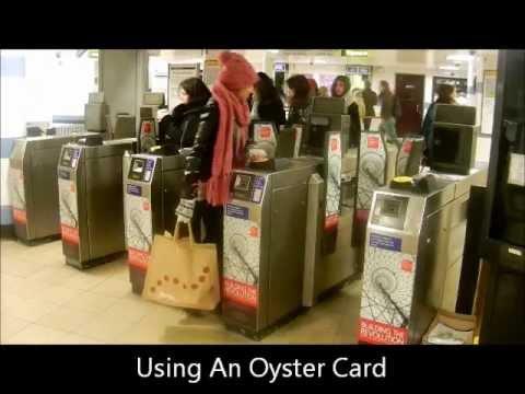 Using London Underground Ticket Barriers