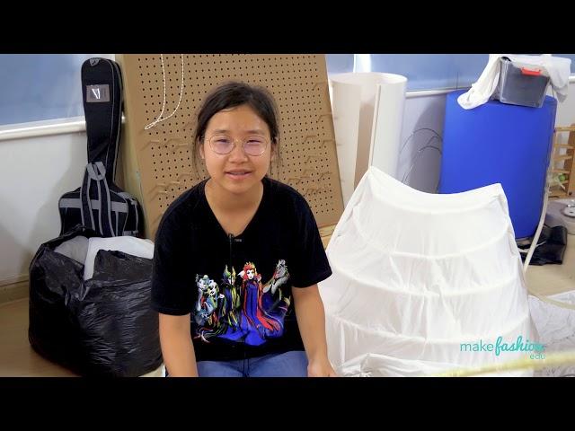 MakeFashion Edu Insights: Kiki Yi - Dual Emotions Hoop Dress