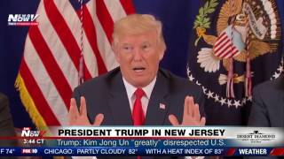 FNN: President Trump Holds Press Conference in New Jersey