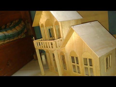 rumah-rumahan berby dari triplek - DIY