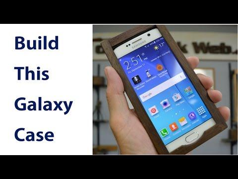 Make a Wooden Galaxy 6  Smartphone Case
