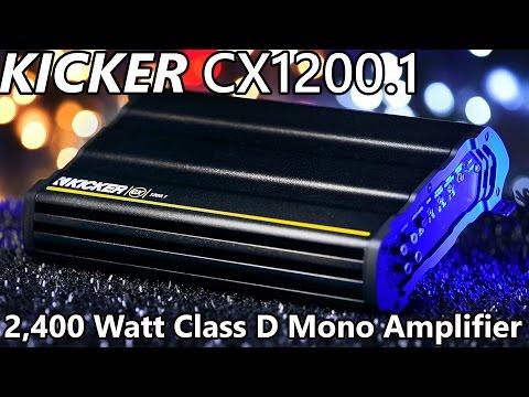 kicker-cx1200.1-class-d-mono-amplifier---2,400-watts!!!