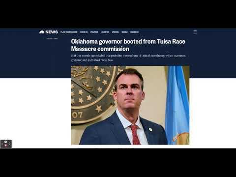 Oklahoma Gov Removed From Tulsa Race Massacre Commission