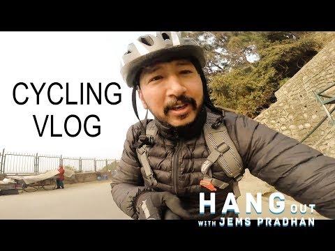 Hangout with Jems Pradhan CYCLING VLOG