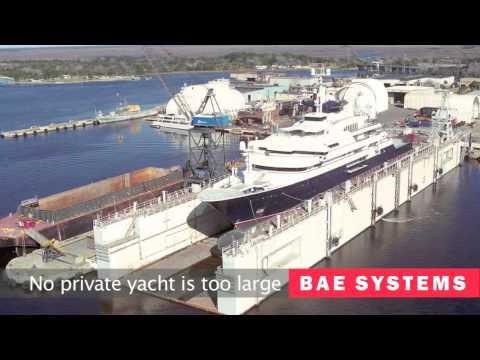 BAE SYSTEMS Shipyard formerly Atlantic Marine