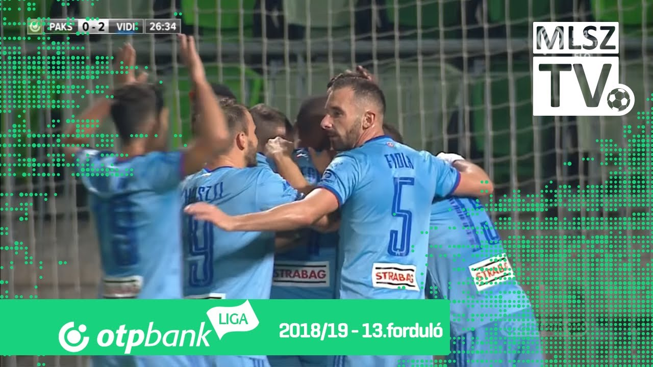Paksi FC - Mol Vidi FC | 0-4 (0-3) | OTP Bank Liga | 13. forduló | 2018/2019