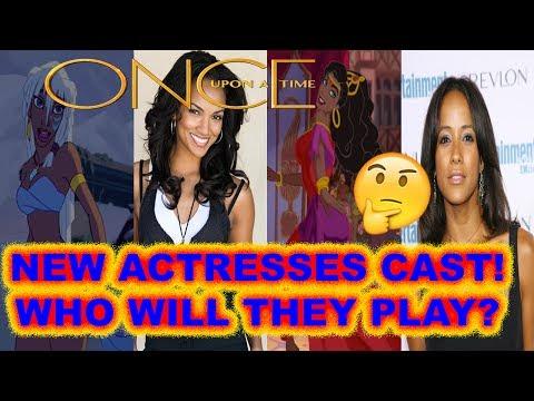 Once Upon A Time Season 7 Cast 5 New Actresses! Gabrielle Anwar, Dania Ramirez & More