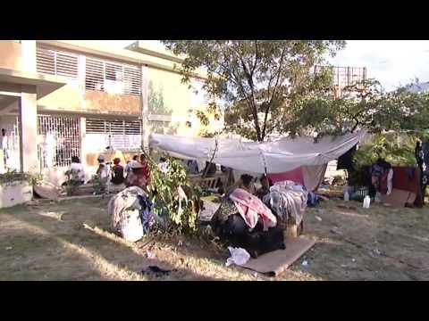 S isme en ha ti les sinistr s de canap vert tv5monde for Canape vert hospital haiti