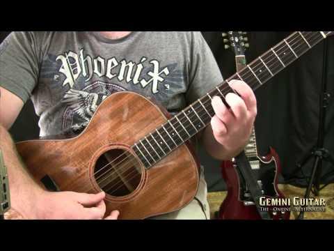 Dark Folk Guitar - Melancholy Minor Voicings