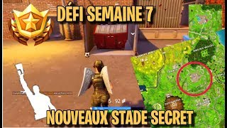 STADE SECRET FOR DEFI SEMAIN 7 FORTNITE (score a goal in different terrain)