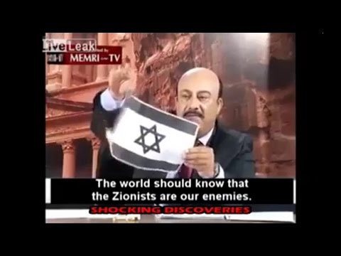 Jordanian TV Hosts Burns Israeli Flag Live On Air