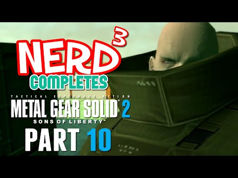 Nerd³ Completes... Metal Gear Solid 2 - 10 - Fat Man and Little Boy